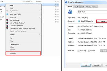 Khắc phục lỗi khi mở file GstarCAD
