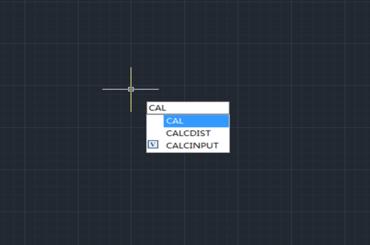 Sử dụng máy tính trong giao diện thiết kế của phần mềm GSTARCAD