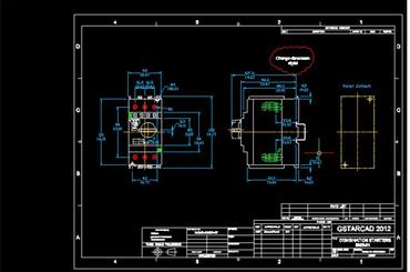 PDF2DXF trong GstarCAD giúp chuyển đổi bản vẽ PDF thành DXF