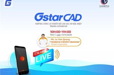 Những công cụ thiết kế CAD đặc biệt trong GstarCAD - Livestream