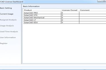 Hướng dẫn quản lý network license GstarCAD