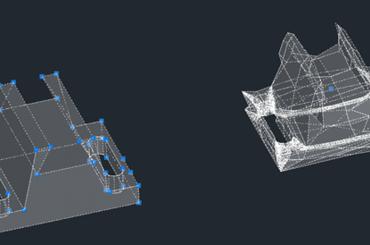Sử dụng lệnh CONVTOMESH trong thiết kế 3D GstarCAD 2021