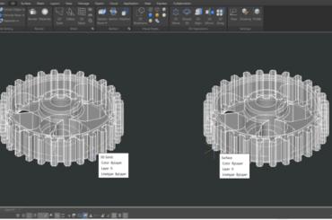 Sử dụng lệnh CONVTOSURFACE trong thiết kế 3D GstarCAD 2021