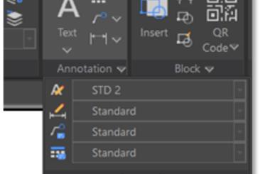 Multileaders ghi chú trong CAD: Nhãn và Chú thích