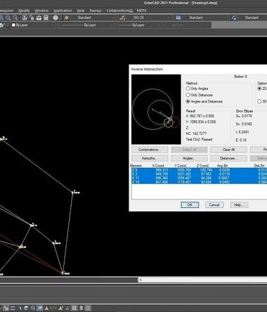 Phần mềm trắc địa TcpMDT Alitop add-on GstarCAD