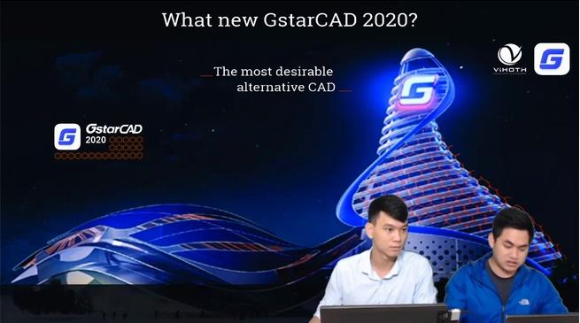 Những tính năng mới tiên tiến của phần mềm GstarCAD 2020
