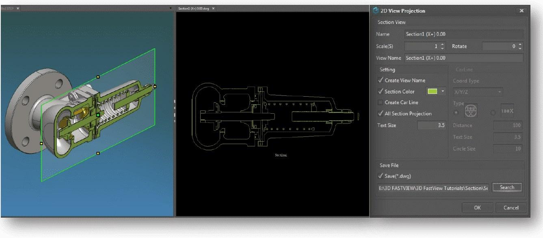 Đọc file CATIA V5, NX11-12, Solid Edge, Pro/Engineer, Creo Parametric 2D… với 3D FastView